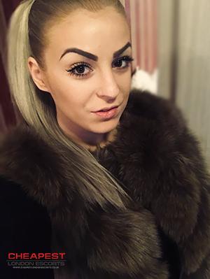 blonde cheap escort